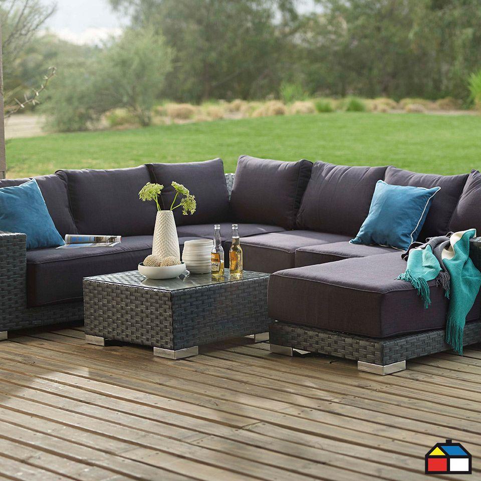 Sodimac Com Outdoor Sectional Sofa Outdoor Sectional Sectional Sofa