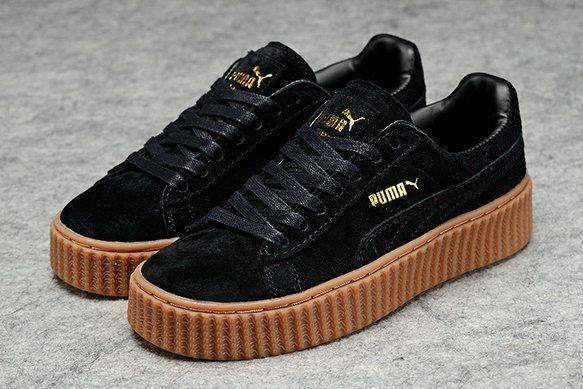 chaussures de séparation 08b12 f785c nouvelle arrivee Puma x Rihanna WMNS Creeper Suede Leather ...