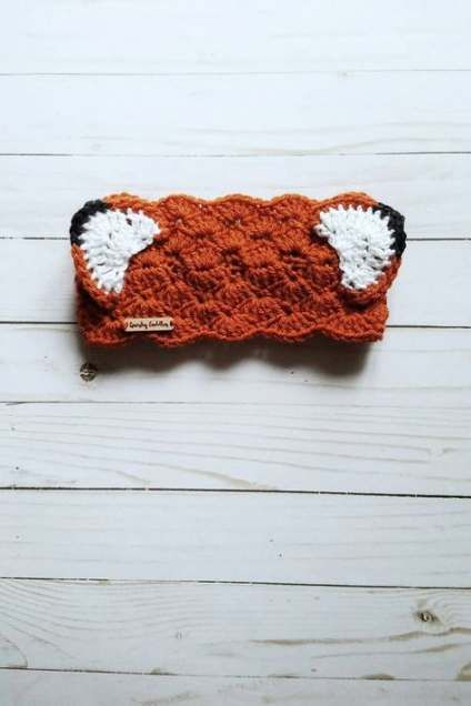 Crochet headband cat ear warmers 25 ideas #crochetheadbandpattern