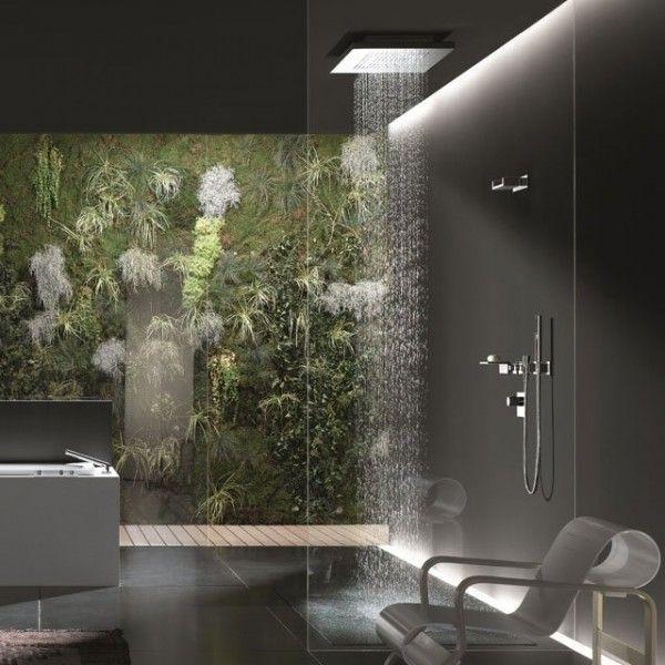 Bad Armaturen und Accessoires dusche originell design Badezimmer - design mobel eine dunkle gothik einrichtung