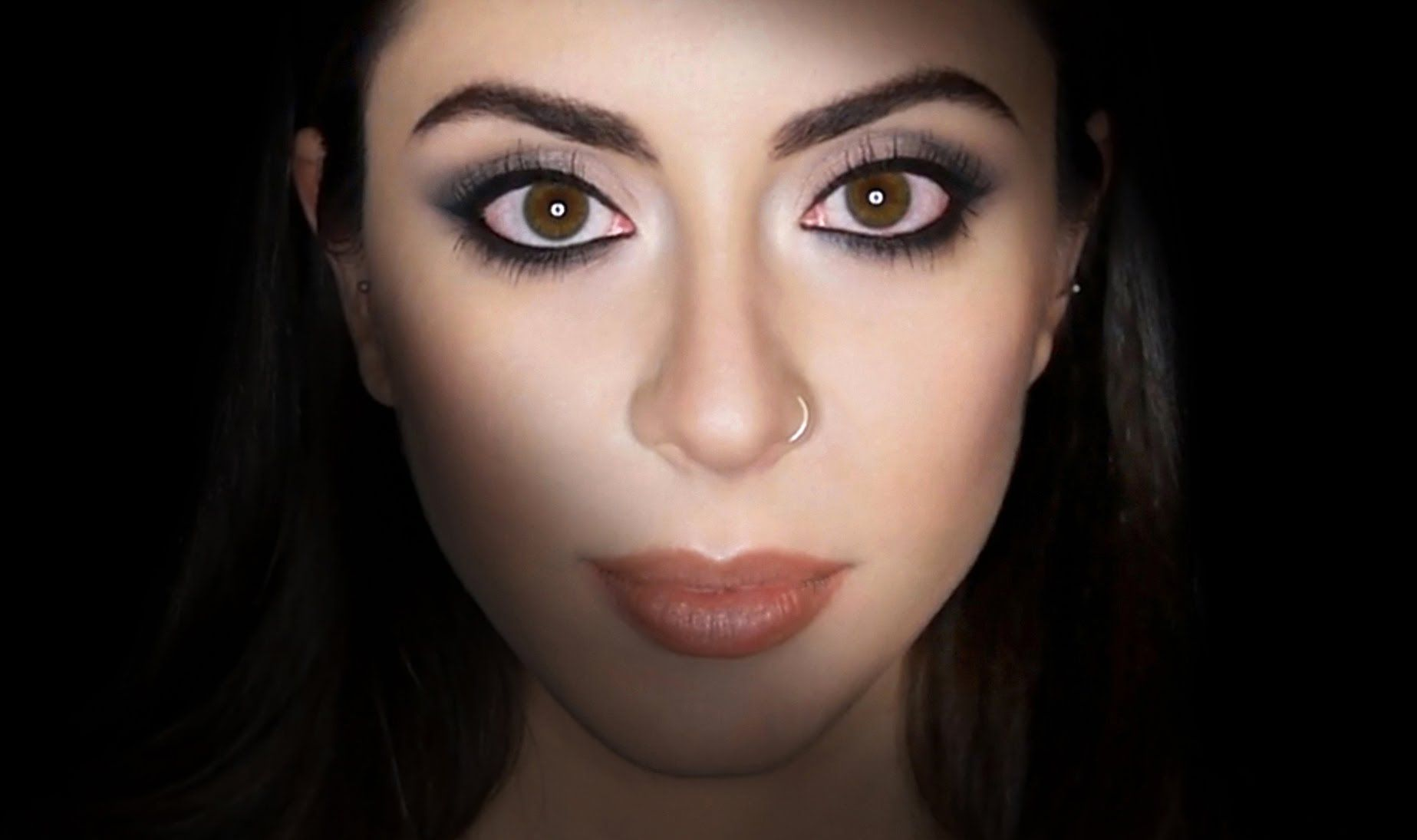 Easy, Foolproof Makeup For Big/Round Eyes  Claire Dim  Makeup