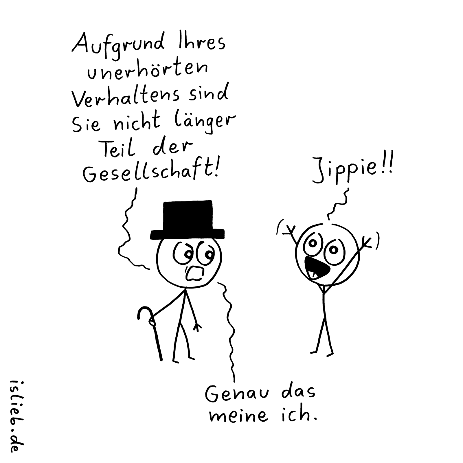 Photo of Exclusion. | #company #cartoon #islieb