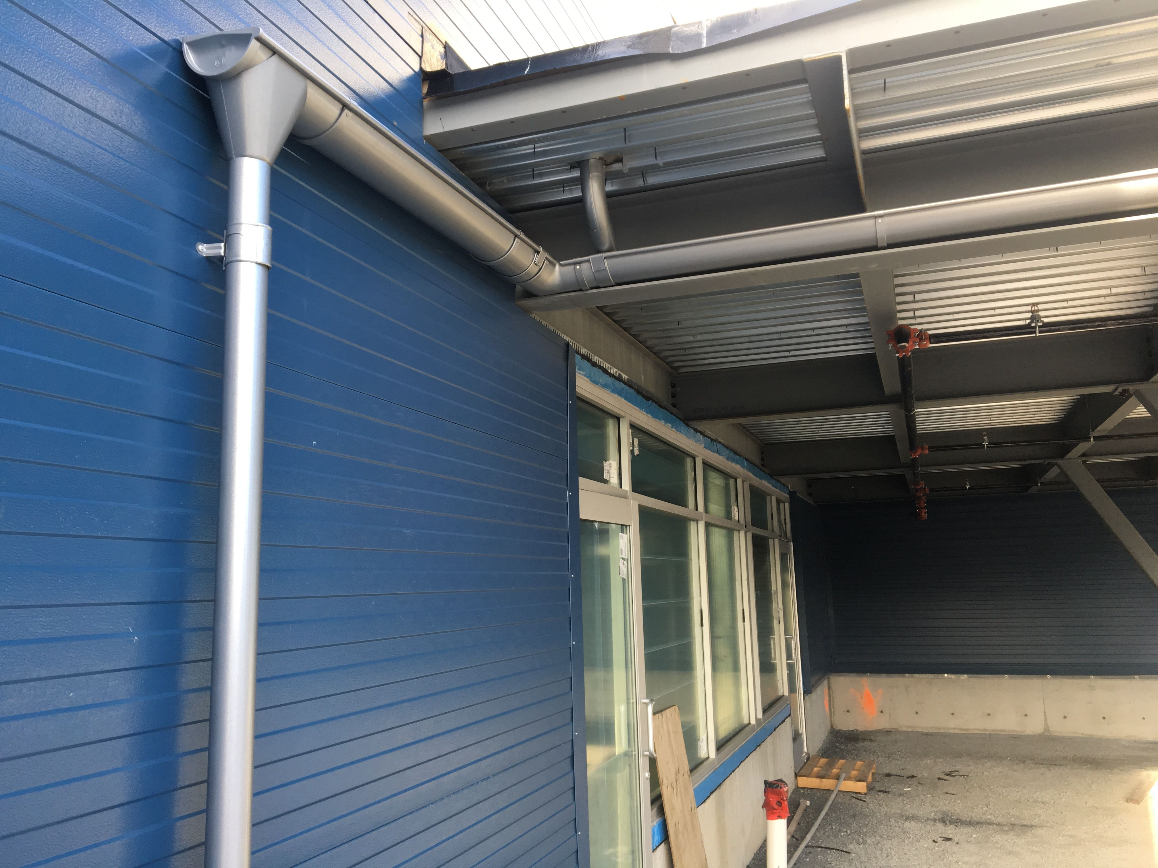 Gutter Install By Mighty Moe Gutters Installation Building