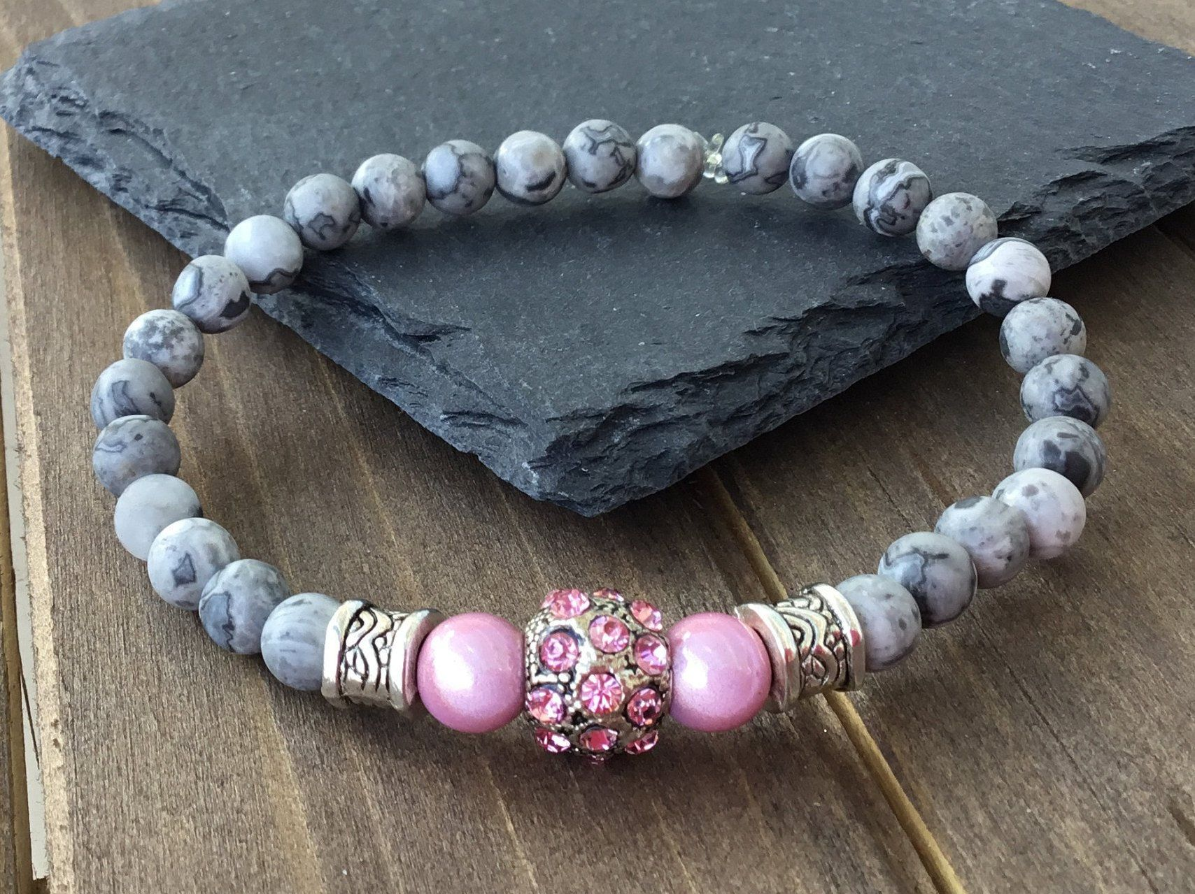 bracelet femme marbre