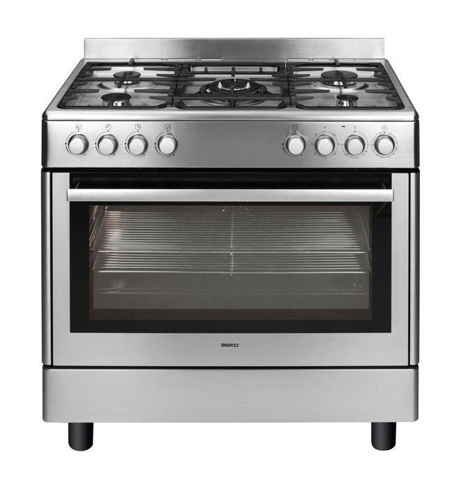 Piano De Cuisson Pas Cher Auchan Achat BEKO Cuisinière Gaz GM - Promo gaziniere gaz pour idees de deco de cuisine
