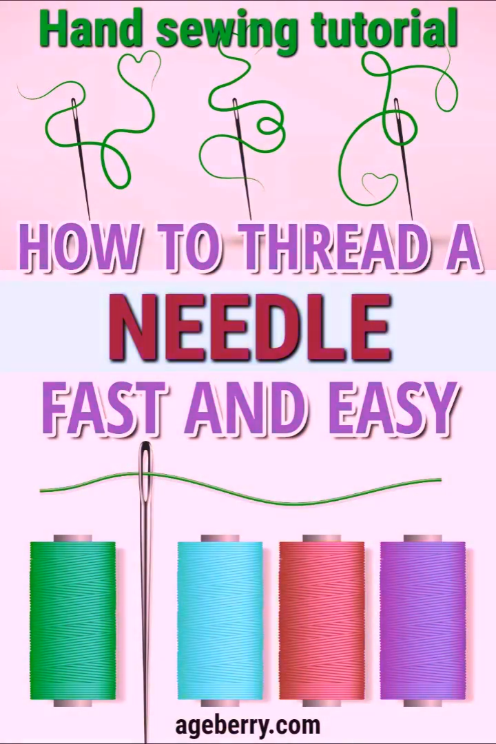 Photo of The easy way to thread a needle for hand sewing – a video sewing tutorial
