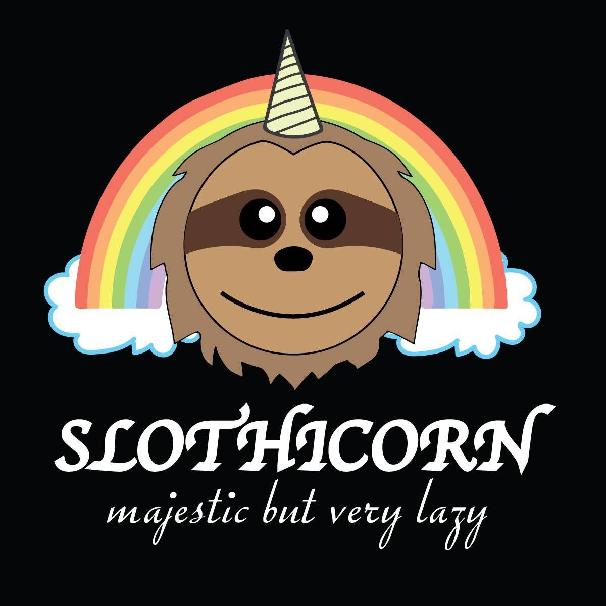 Slothicorn Shirt Sloth Life My Spirit Animal Cute Sloth