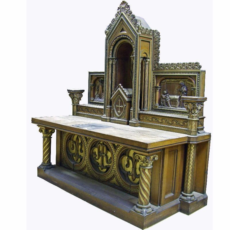 Home Altars For Sale: Gothic Church Altar - Google Search