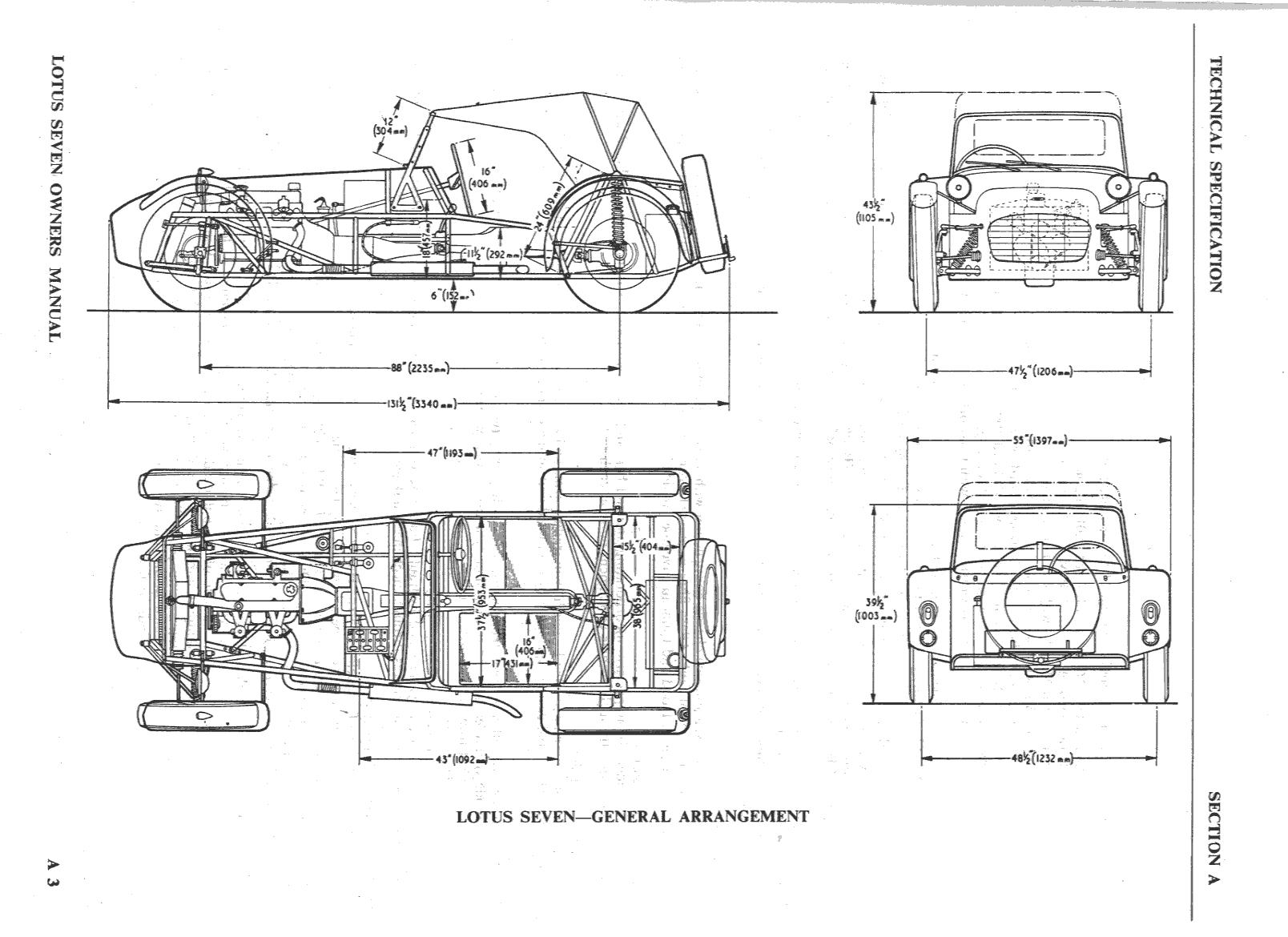 Lotus 7 Kit Car Usa - Mechanical engineering drawings drawings mechanical daydream