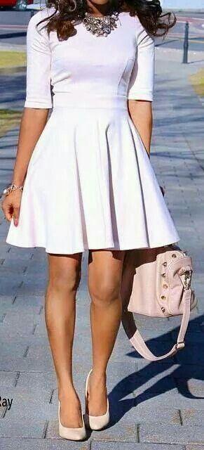 Blanco campana. Vestidos ...