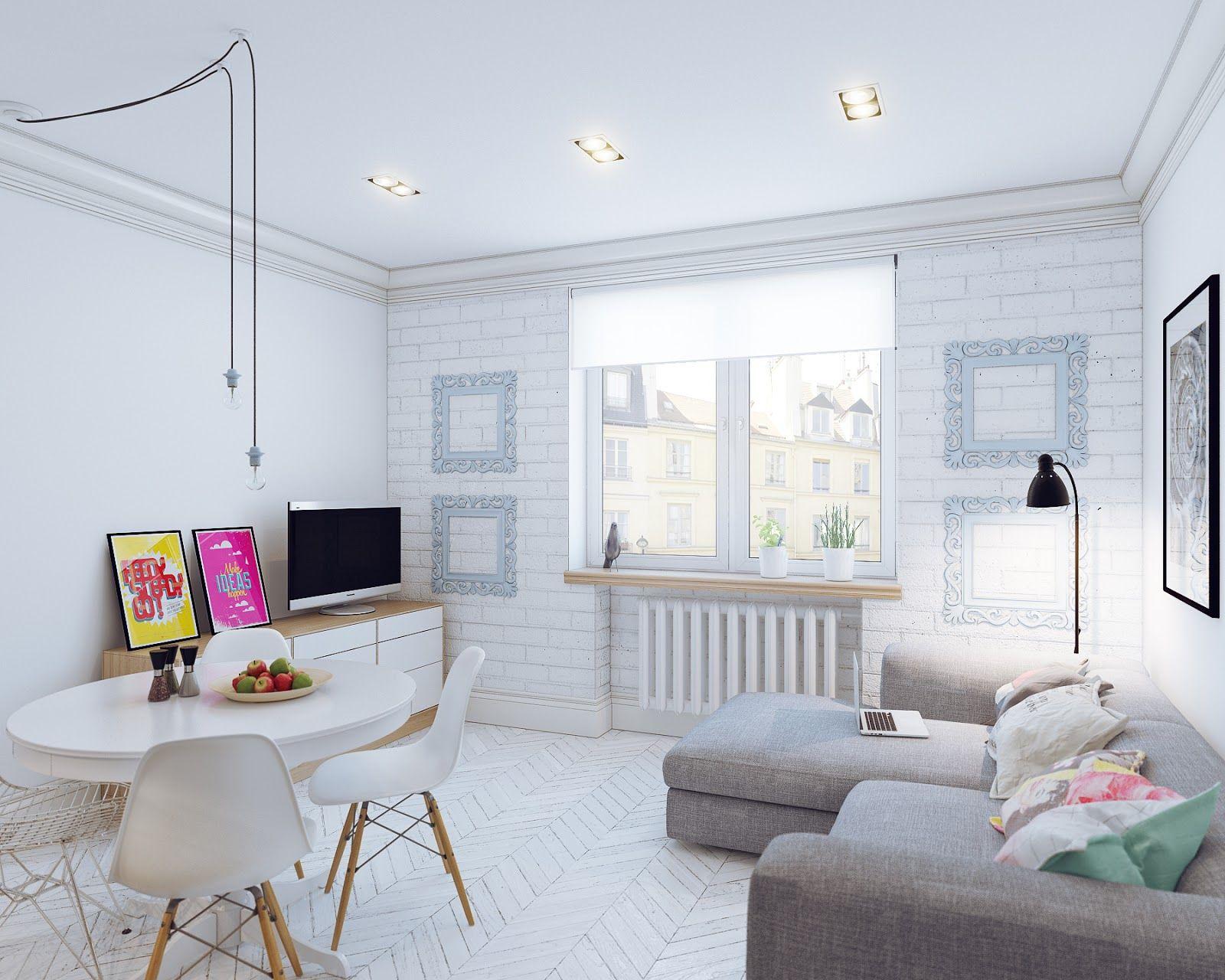 Come arredare piccoli spazi: l\'esempio di un mini appartamento di 25 ...