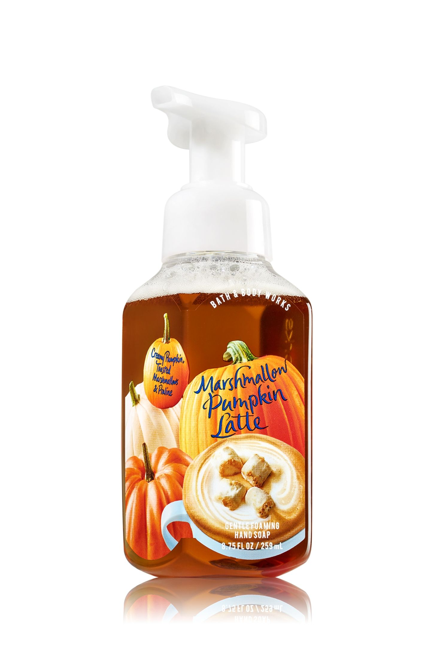Marshmallow Pumpkin Latte Gentle Foaming Hand Soap Soap