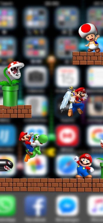 Los Mejores Wallpaper De Mario Bros Fondos De Whatsap Fondo De Pantalla Para Iphone 5 Fondos De Movil