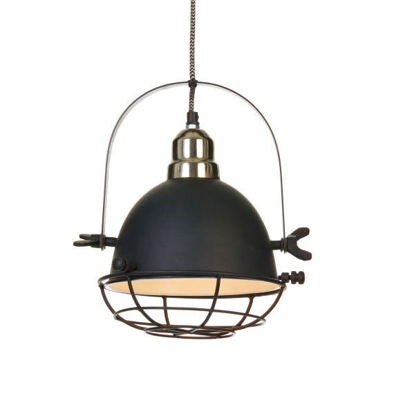 deckenleuchte industrial look metall industrial living pinterest metall einrichten und. Black Bedroom Furniture Sets. Home Design Ideas