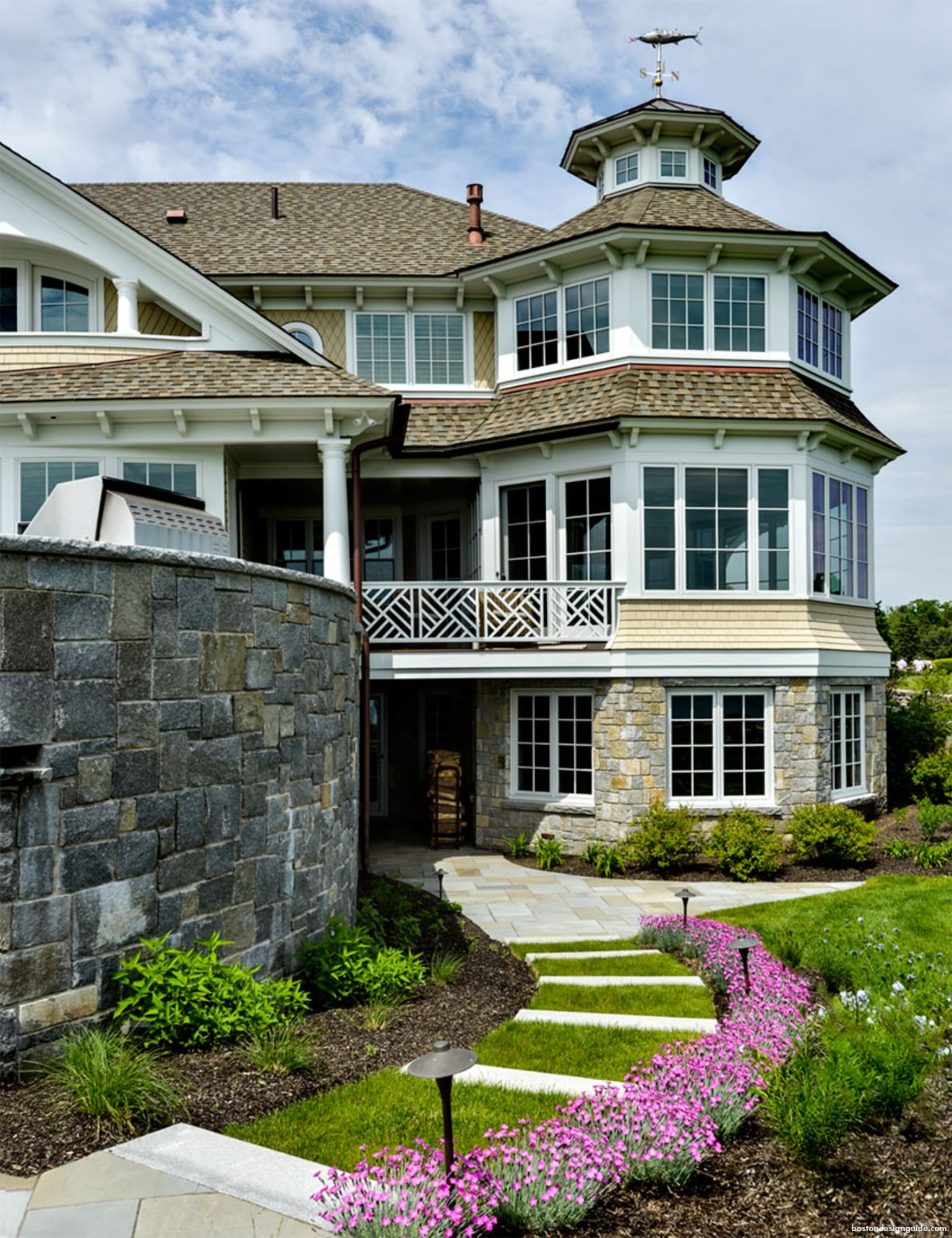 Custom New England Homes Built By Cm Ragusa Builders