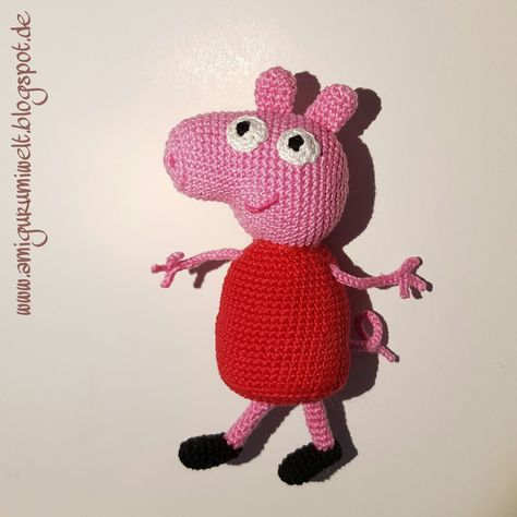 Wundervolle Amigurumi Welt: Peppa Wutz (Peppa Pig) kostenlos free ...