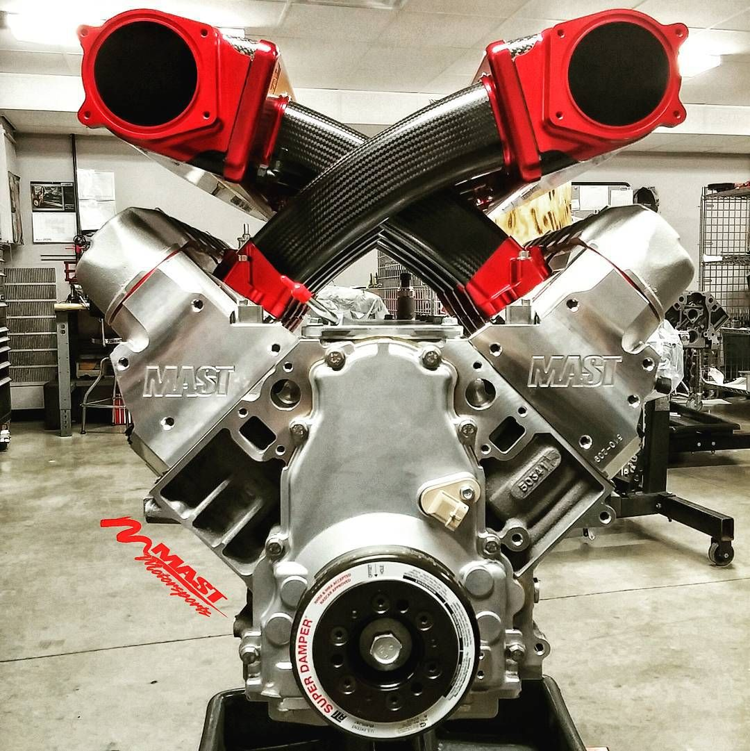 Another View Of The #MastMotorsports Handbuilt 427 With