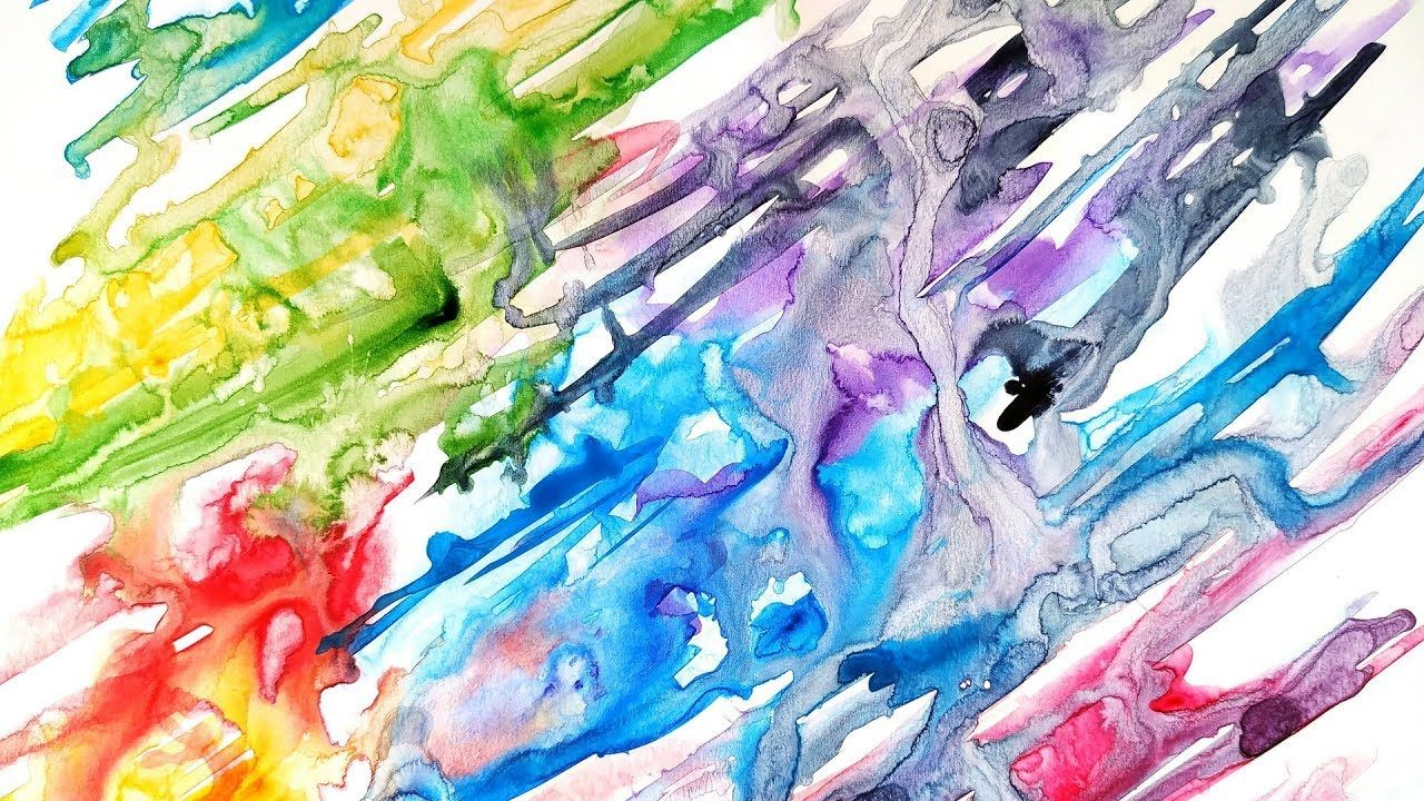 Diy Abstract Watercolor Background Easy Painting Ideas Art Tutorial Watercolor Background Abstract Watercolor Easy Paintings