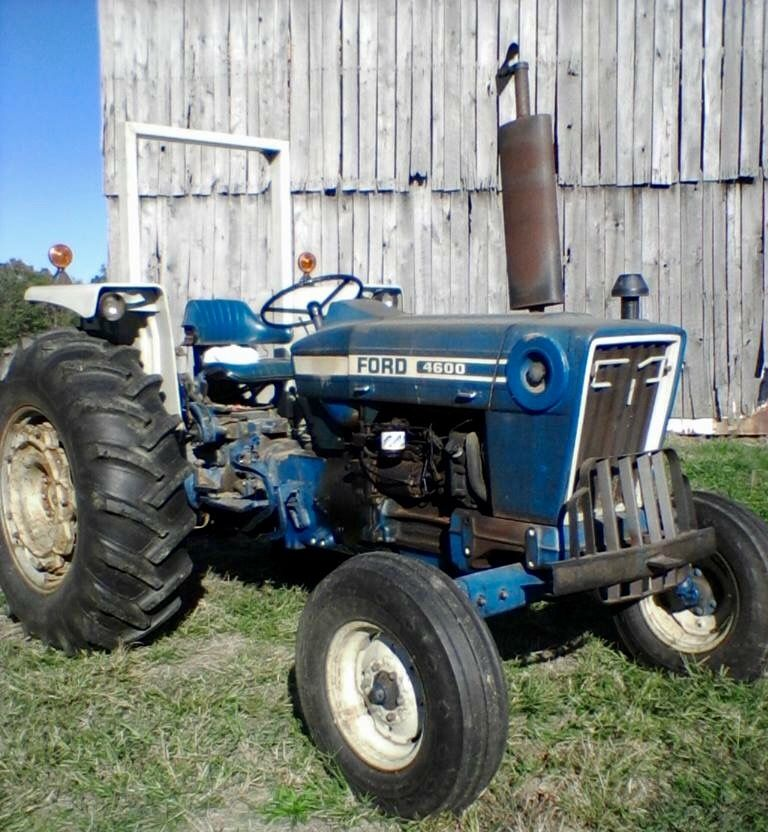 Ford 4600 Classic Tractor Ford Tractors New Holland Tractor