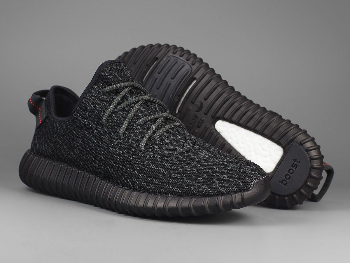 ADIDAS YEEZY 350 BLACK The Staffing and Entertainment Collective