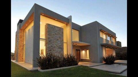Pin by tony tharae on architected casas modernas casas casa estilo - Casas cuadradas modernas ...
