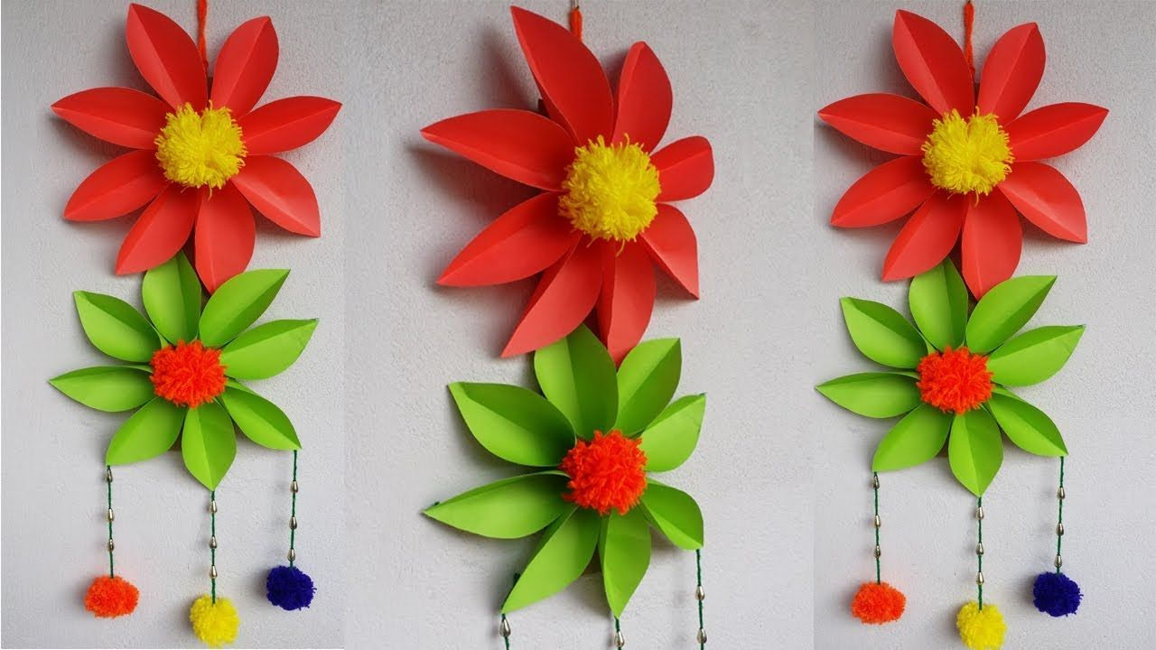 Diy Wall Hanging How To Make Easy Amp Beautiful Paper