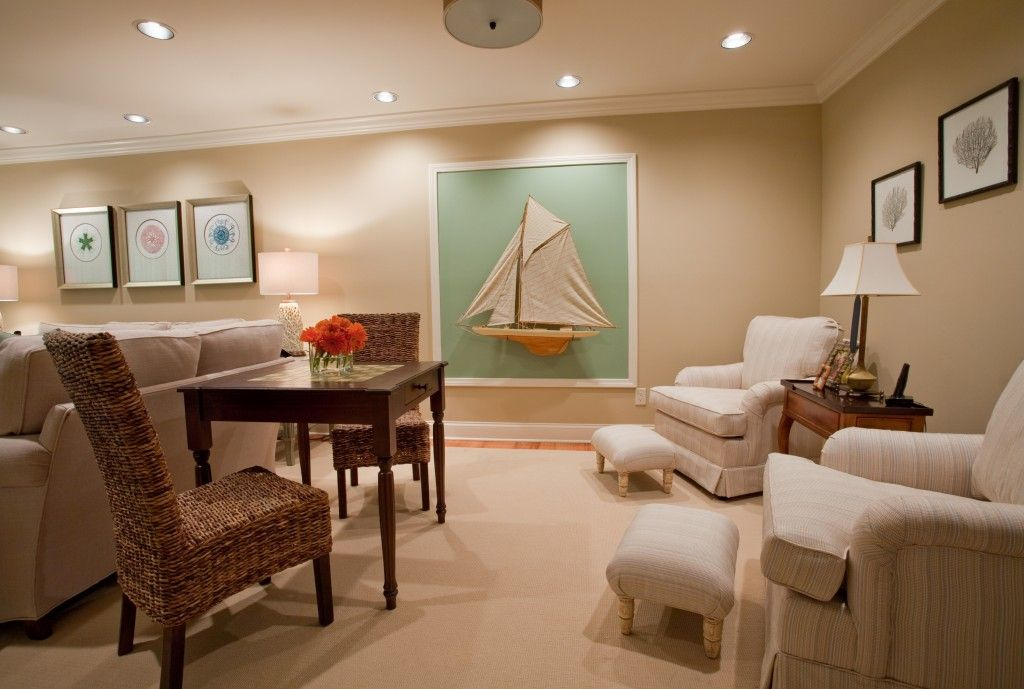 """Incorporate smaller """"family fun"""" spaces into the larger living area"""