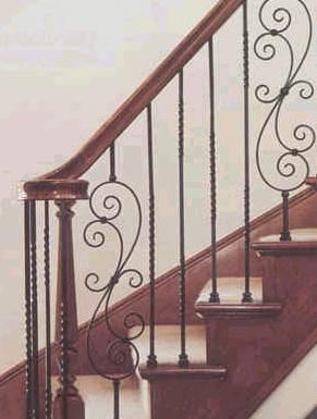 Best Wrought Iron Stairs Railing Designs Crown Heritage 400 x 300