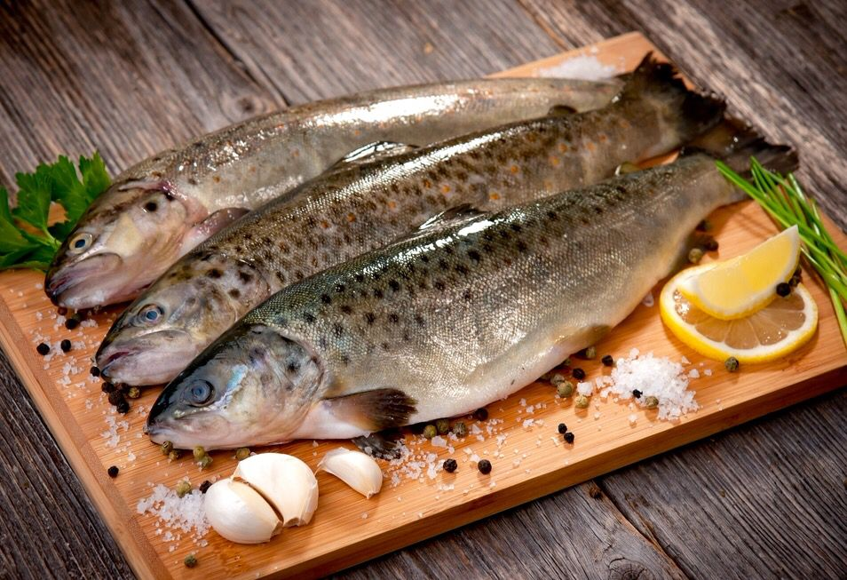 How To Cook Trout Recipe Cooking Trout Fish Consumption Fish