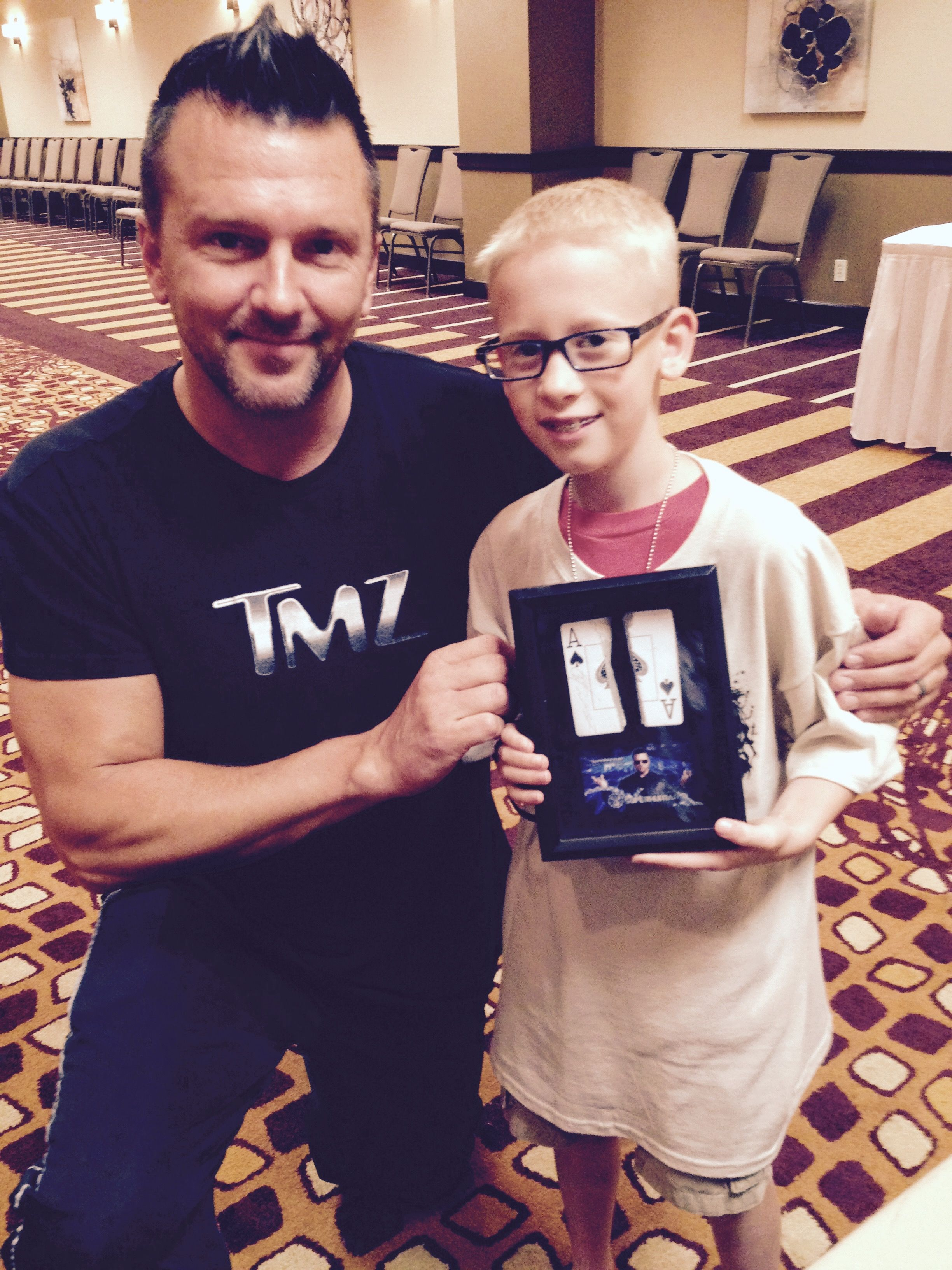 Chad netherland with martial arts karate kid riley parker
