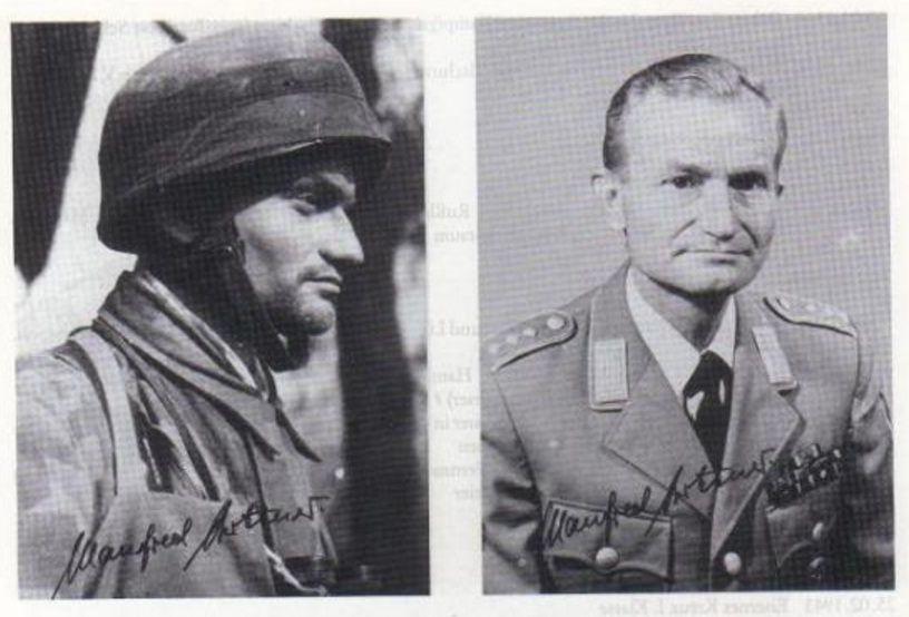 Hauptmann Manfred Büttner (1921 – 1992)