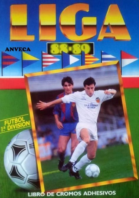 ALBUM CROMOS LIGA - 1988-89)