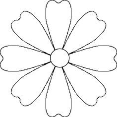 Leather Flower Template  Google Search   Pinteres