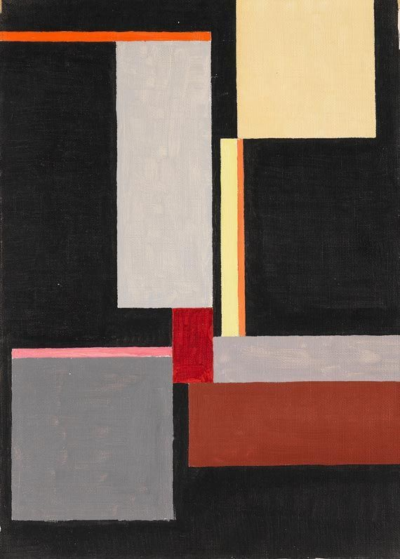 Walter Dexel 1890 1973 German Constructivist Artist And