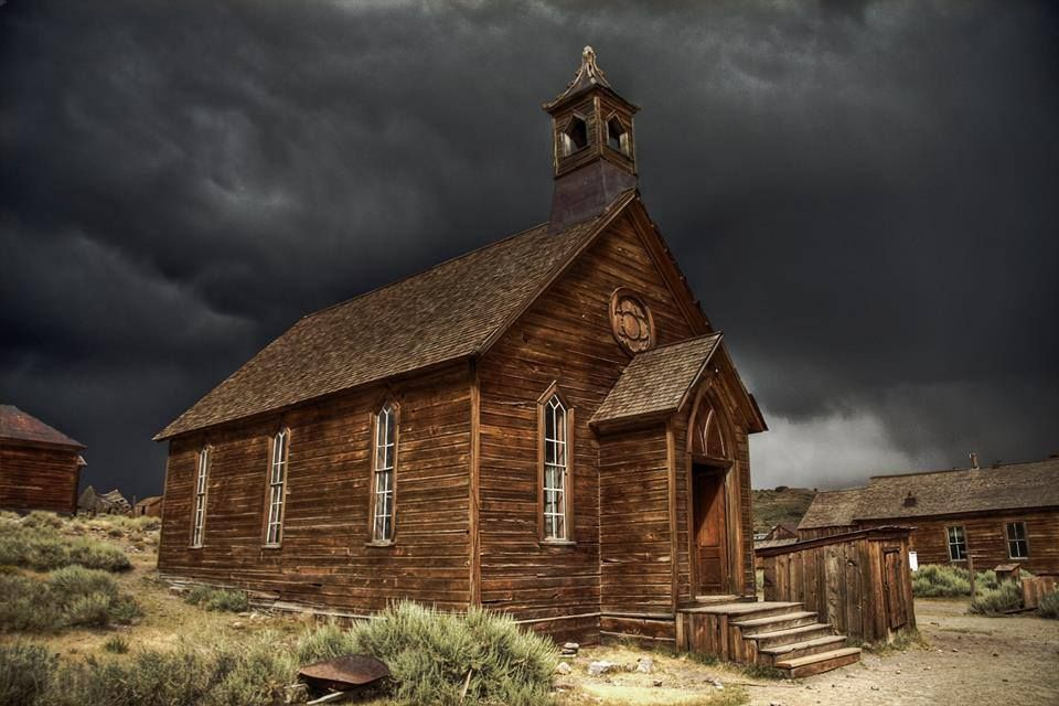 Bodie, California by David Toussaint