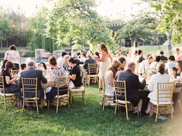 Backyard Garden Wedding in Northern California Gardens, Wedding