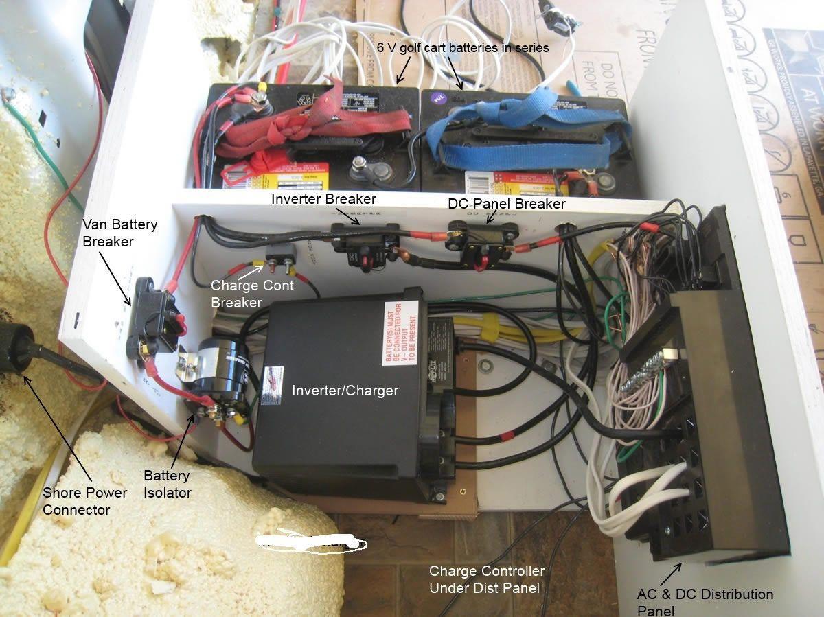 diy electrical and solar promaster camper van conversion www builditsolar com [ 1200 x 899 Pixel ]