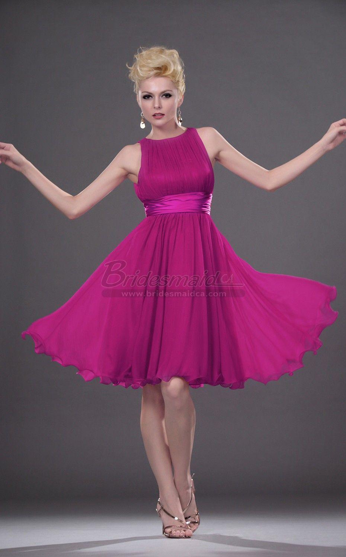Encantador Vestido De La Dama De Honor De Monique Lhuillier Modelo ...