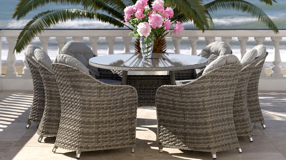 Livia Xl Table Et Chaises Table Plate