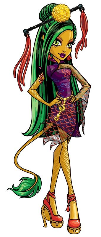 Jinafire Long Monster High Characters Monster High Pictures Monster High Art
