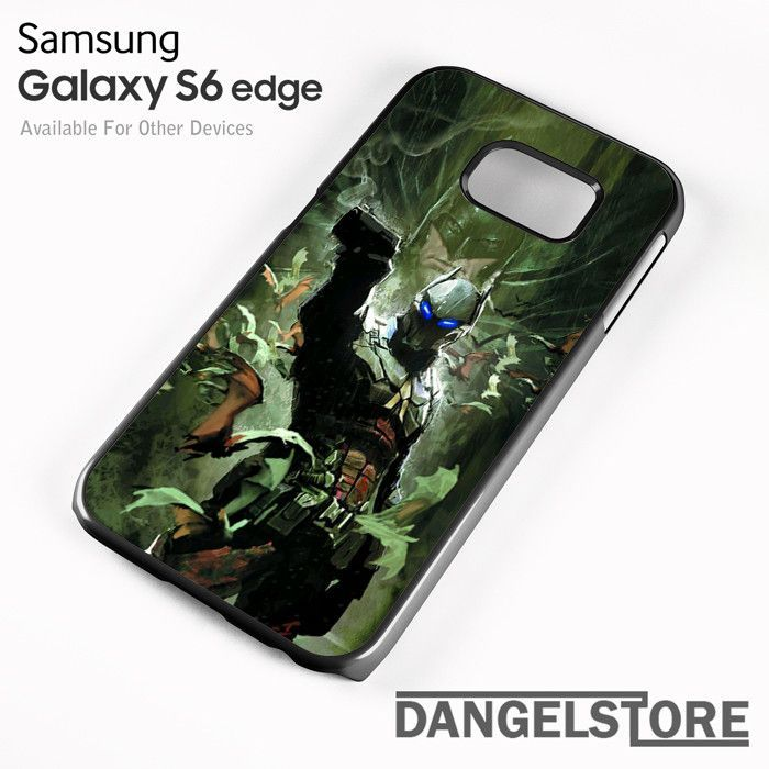 Arkham Knight as batman Villain For Samsung S6 Edge Case