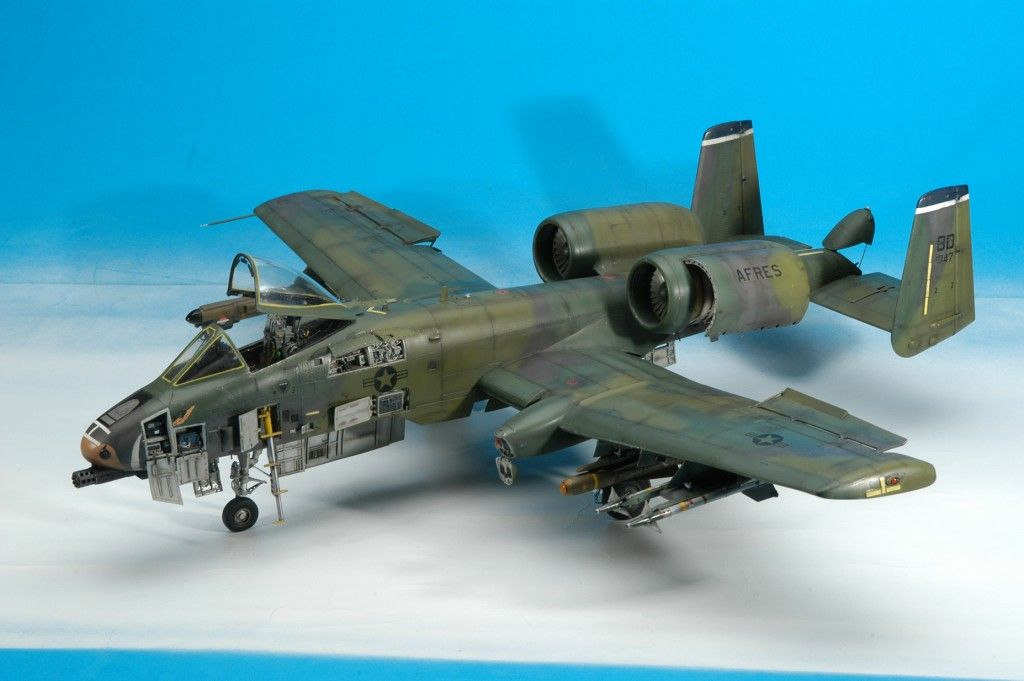 A 10a Thunderbolt Ii 1 32 Trumpeter By Girolamo Lorusso Model Airplanes Aircraft Modeling Model Aircraft