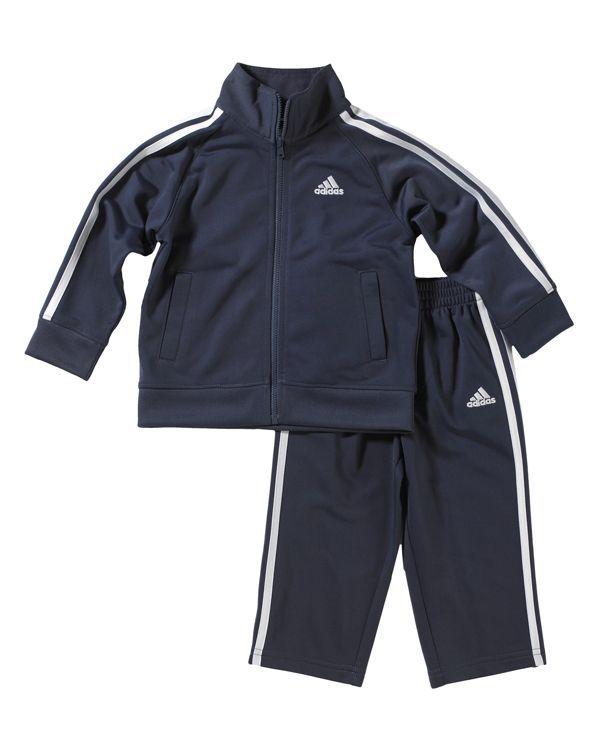 9dca07187da2 Adidas Toddler Boys  Tricot Jacket   Pants Set - Sizes 2T-4T ...