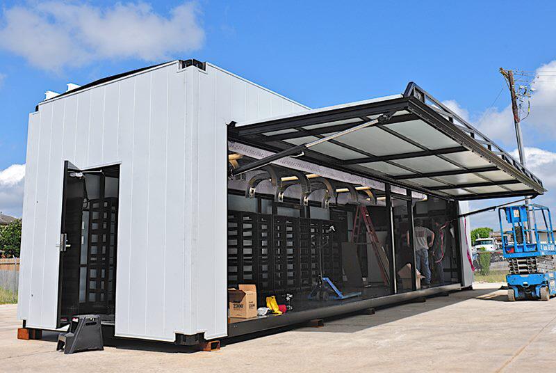 Hydroswing Europe Uk Iso Container Door Systems 433 Container House Container House Design Container Restaurant