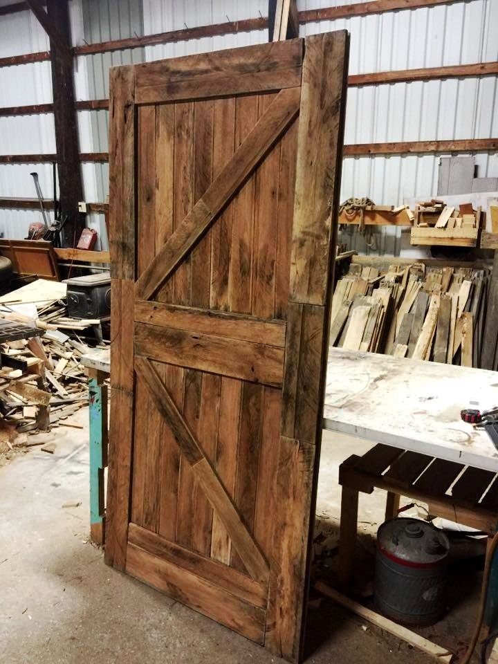 Door Made Out Of Fire : Doors made out of pallets pallet ideas wooden