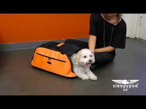 Sleepypod Air Pet Carrier Instructional Video Youtube