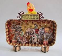 altered circus box - Google Search