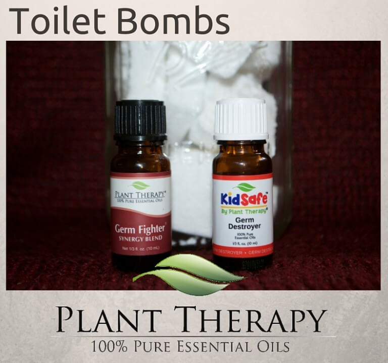 diy toilet bombs  plant therapy essential oils cleaning