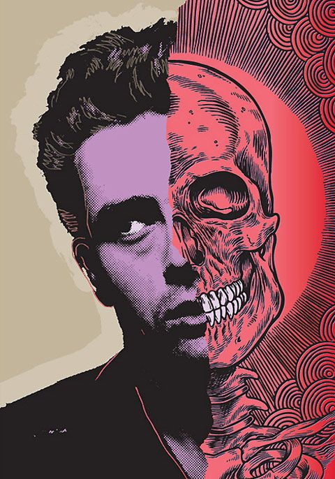 Die Young: a new illustration series by Ben Brown