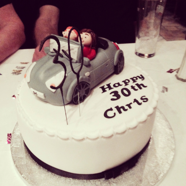Prime Chris 30Th Birthday Cake With Images 30 Birthday Cake Cake Personalised Birthday Cards Sponlily Jamesorg